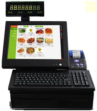 pos收银机触屏点餐软件